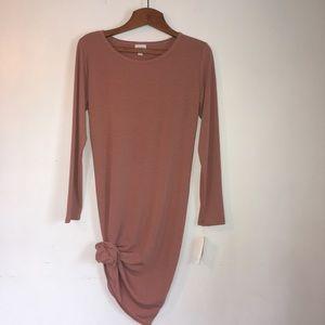 "Lularoe ""Debbie"" dress, women's large, mauve"